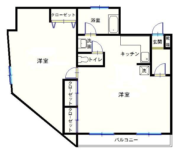 朝日屋ビル601(改装)