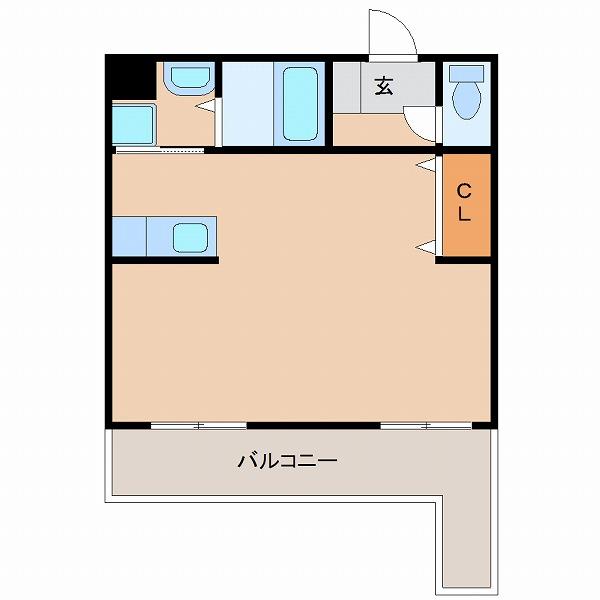 ソラーレ広島2号室