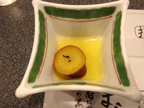 35サツマイモのレモン煮