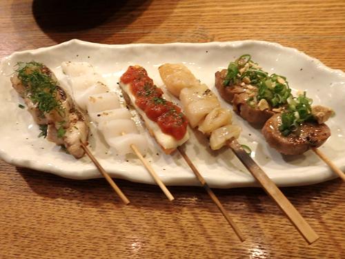79おまかせ魚串5本盛り