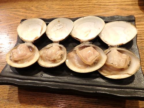 81ハマグリ醤油焼き