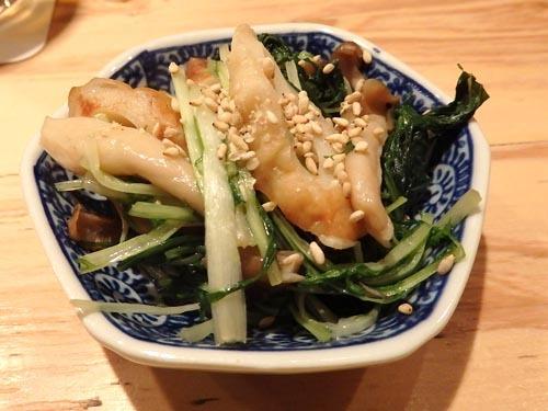 03水菜とちくわ煮