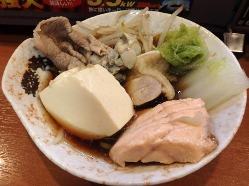 17豚鶏サーモンカキ