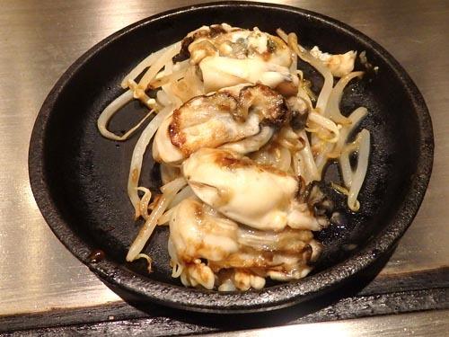 08牡蠣バターポン酢焼き