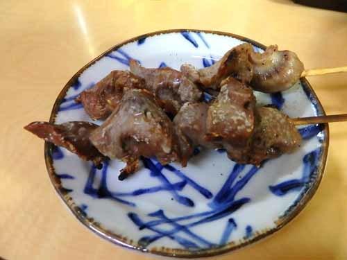 26砂肝串焼き
