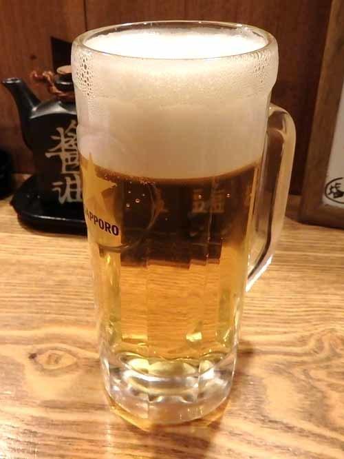 63生ビール
