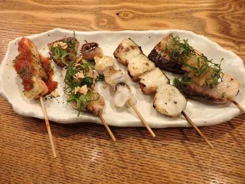 66おまかせ魚串5種盛り