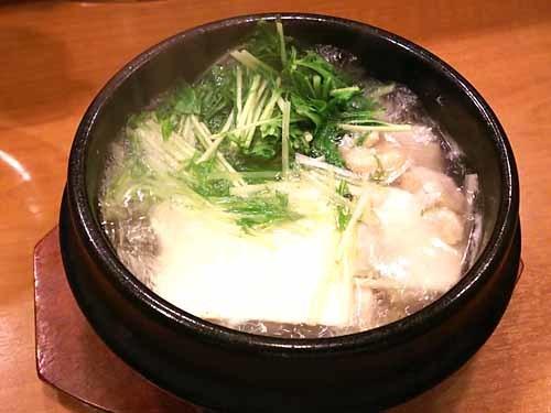 25鶏ムネ肉入り湯豆腐