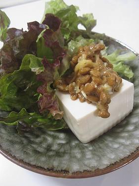 20170123ごはんかわりの豆腐と納豆