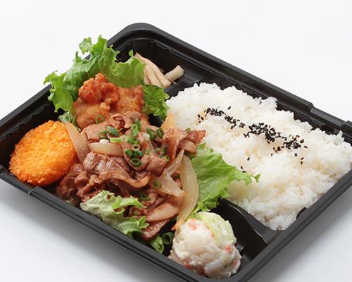 生姜焼き肉弁当