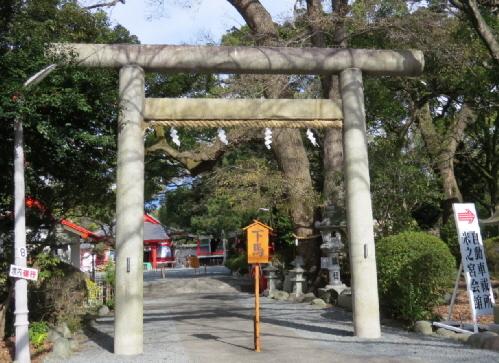 米之宮浅間神社神明鳥居