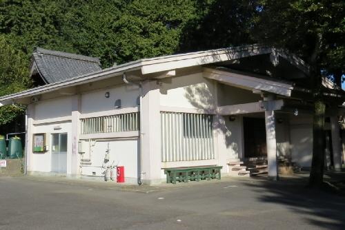 傘木の宣言神社の本殿