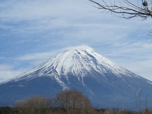 えいちの村からの富士山