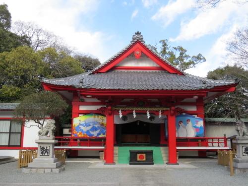 米之宮浅間神社拝殿
