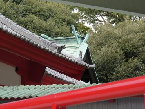 米之宮浅間神社本殿