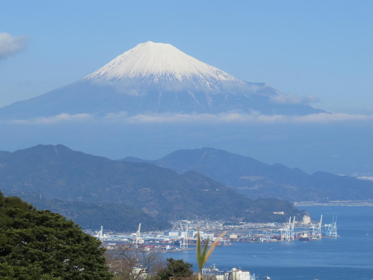 富士山隠れスポット日本平