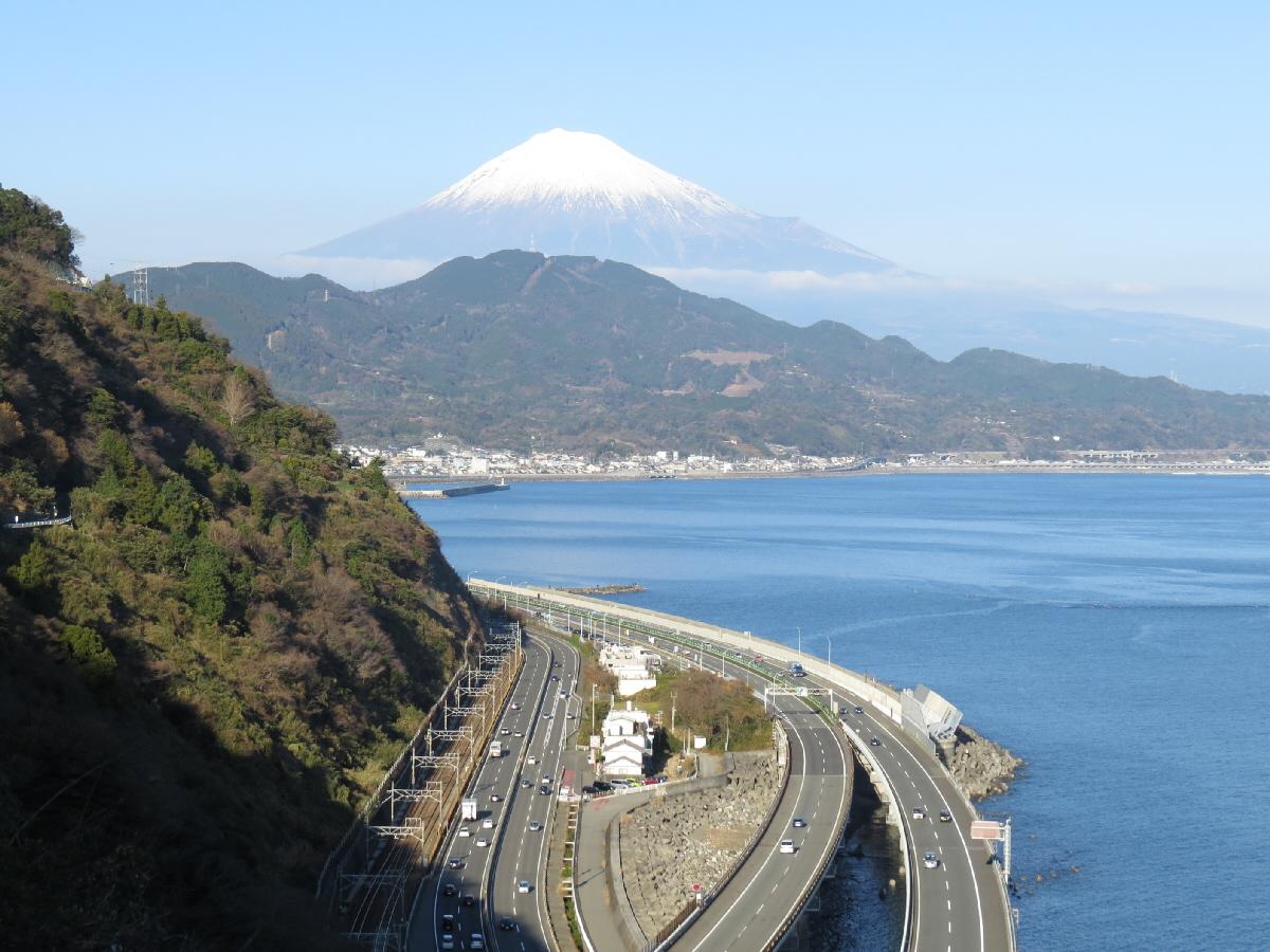富士山隠れスポット薩埵峠