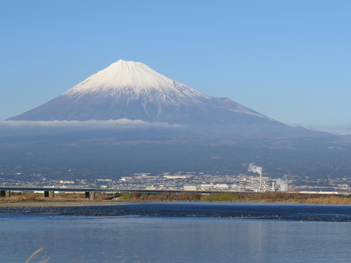 富士山隠れスポット富士川河口