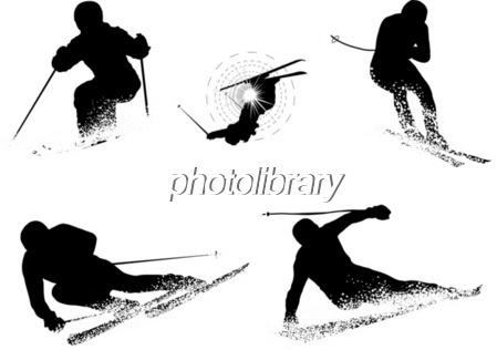 スキーイラスト