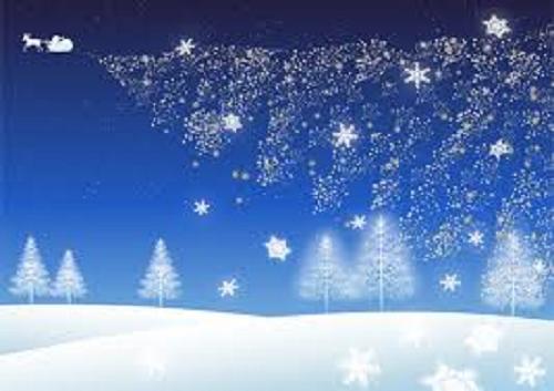 雪のクリスマス