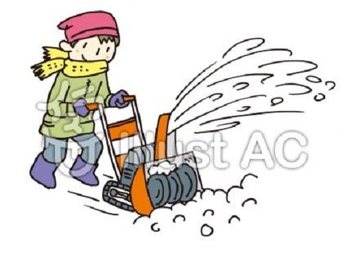 除雪機イラスト