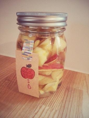 りんご酵母①