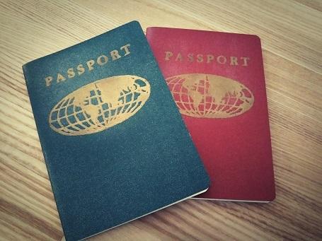 パスポートノート①