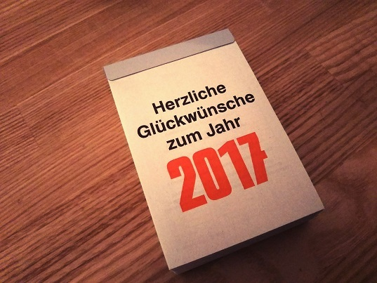 2017カレンダー①
