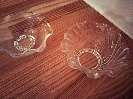 ガラスの器②