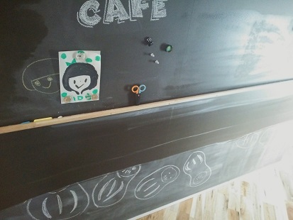リビング黒板①