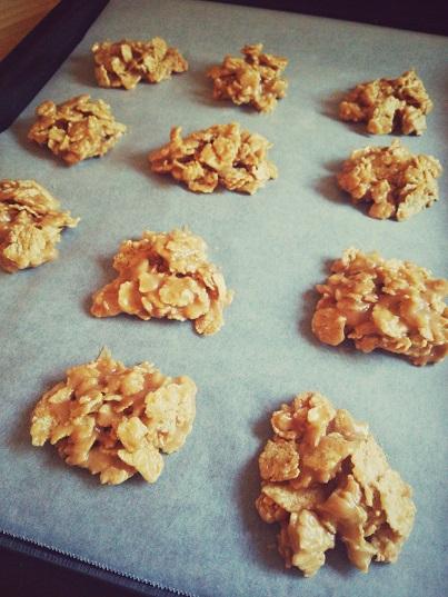 玄米フレーククッキー②