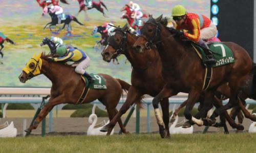【競馬】セカンドテーブル水口、ラインスピリット森一馬