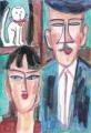 4モディリアーニ花嫁と花婿
