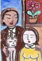 4モディリアニ猫とリプシッツ夫妻 (2)