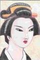3日本髪芸妓 島田髷