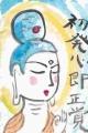 2仏像絵手紙a (3)