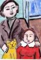 4モディリアニ 猫とリプシッツ夫妻(1)