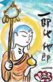 2仏像絵手紙a (2)