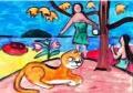 4ゴーギャン タヒチの風景