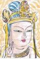 2銅造弥勒菩薩半跏思惟像野中寺 (1)