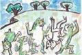 5鳥獣戯画