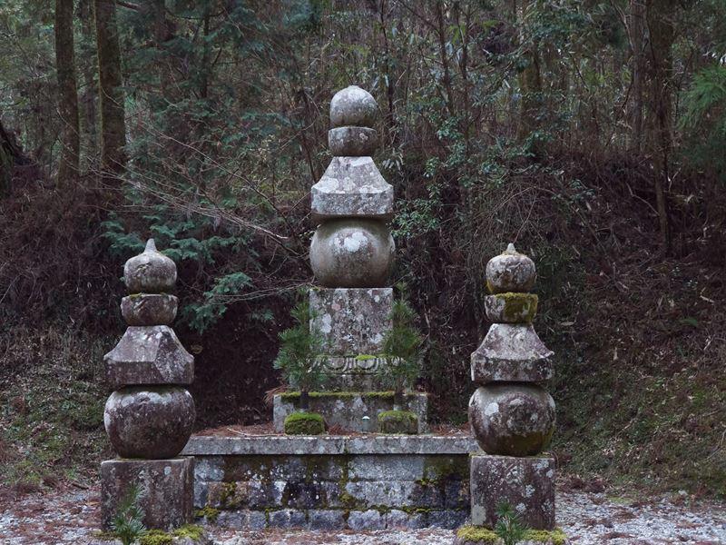 豊臣秀吉の墓