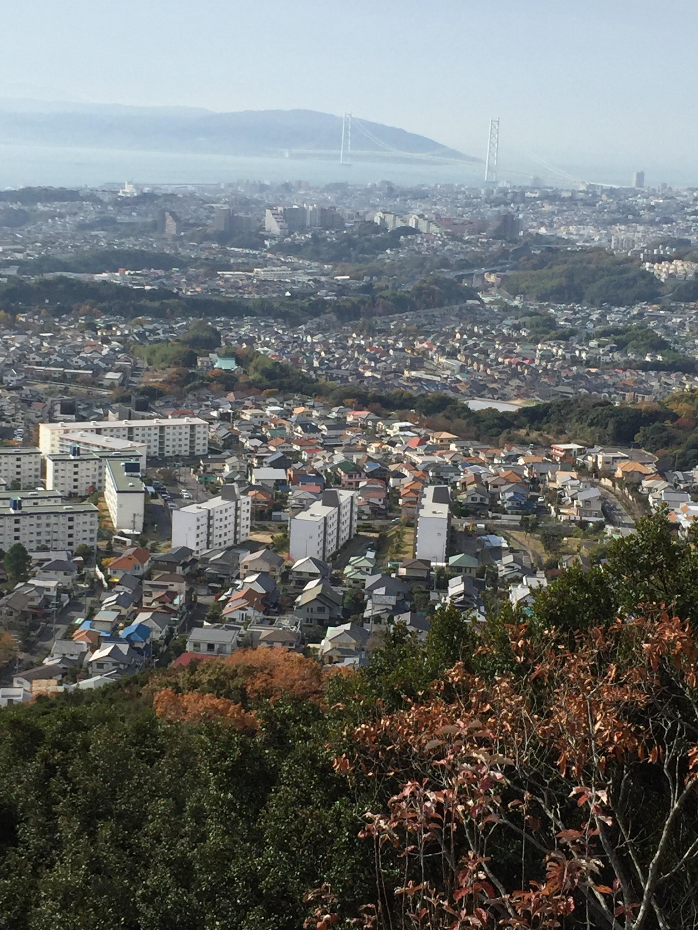 須磨山展望台