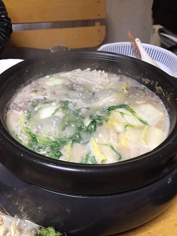 豆乳ゴマ鍋