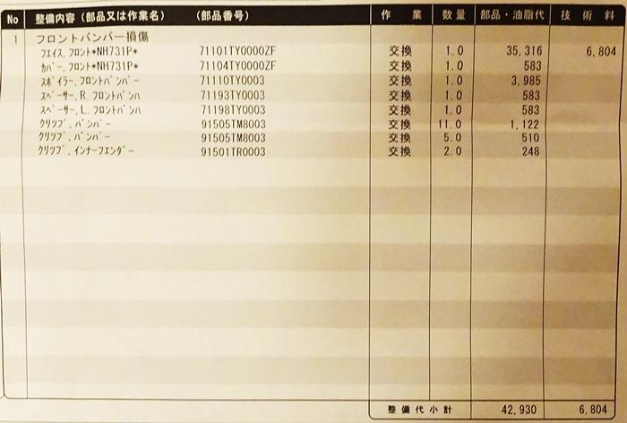 DSC07878修理内訳