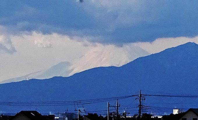 DSC07995ダイエーからの富士山