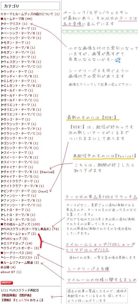 カテゴリ紹介