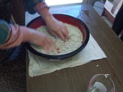 合鴨トラスト 蕎麦打ち