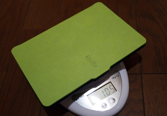 KindleケースG重量