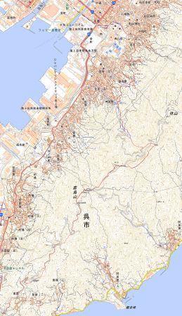 休山地図 2
